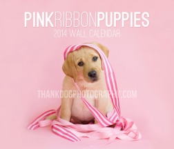 2014 Pink Ribbon Puppies Calendar Cover